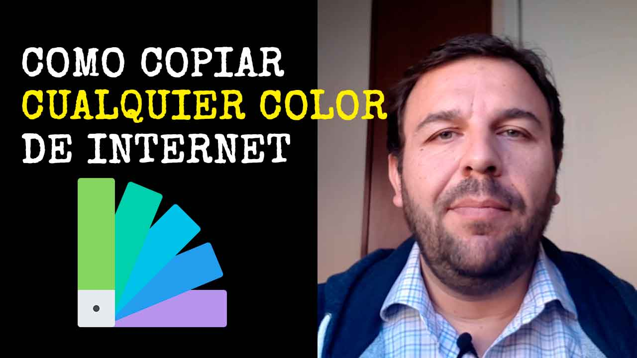 Copiar colores de internet